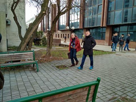 Фото – Тарчуловски дојде прв на распит во Кривичен, стигна и Мукоски