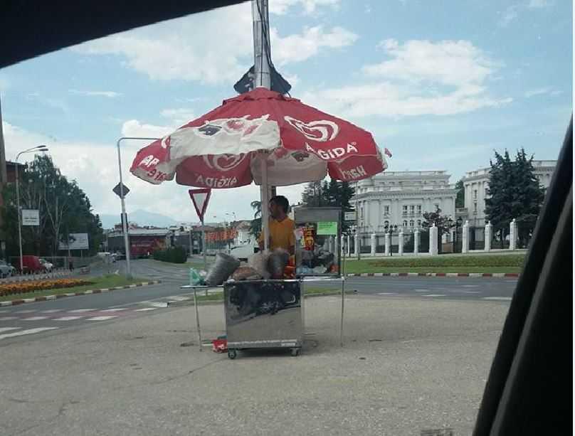 ФОТО: Семкарот наместен , бината подготвена сообраќајот пред Влада затворен