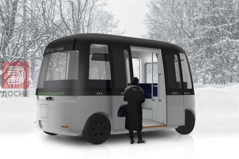 Во Финска првиот автономен минибус кој може да вози во сите временски услови
