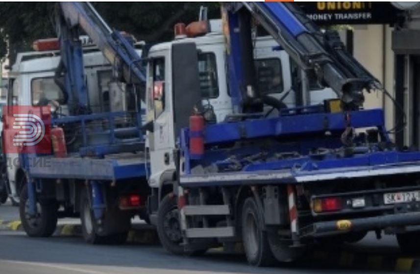 """За еден ден """"Пајакот"""" крена 61 возило само во Скопје"""