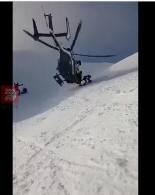 Со хеликоптер изведен неверојатен маневар за да се спаси повреден скијач