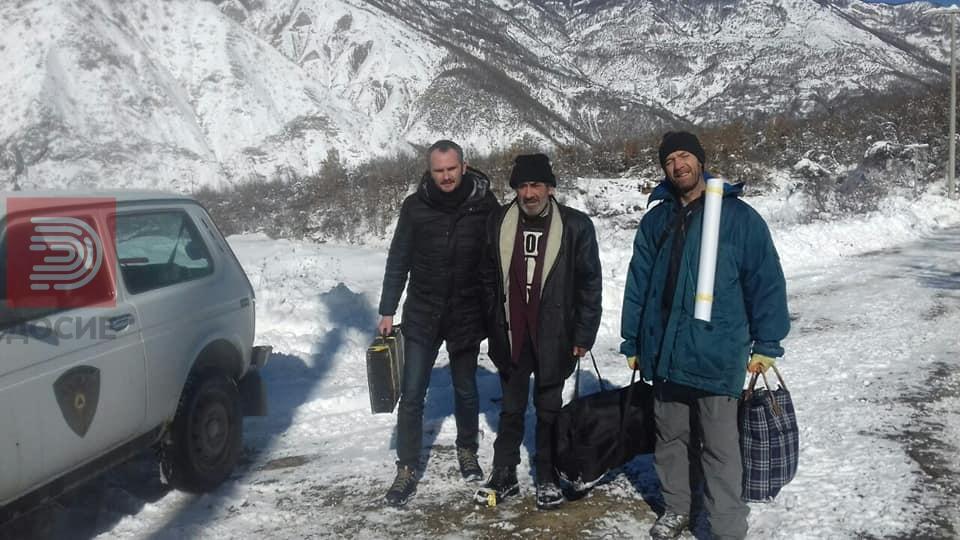Спасени двајца жители на село Горно Мелничани