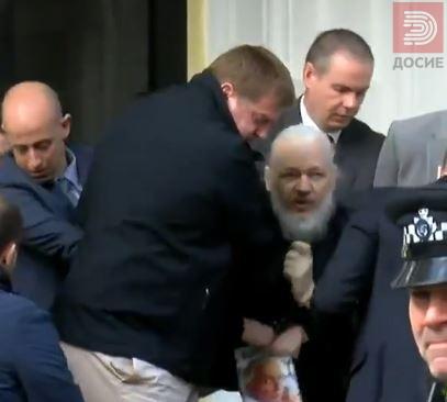 ВИДЕО : Уапсен Џулијан Асанж, основачот на Викиликс