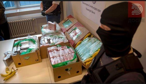 ФОТО: Кокаин пронајден во пакети со банани