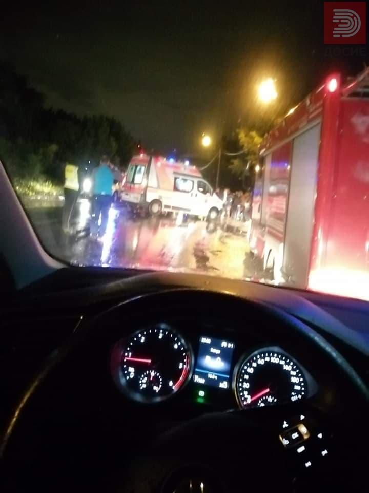 ФОТО: Тројца загинаа двајца критично, судар на камион и автомобил кај Драчево