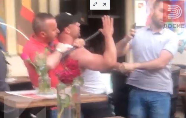 ВИДЕО: Полските навивачи се степаа, полицијата апсеше