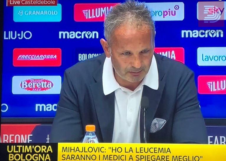 Синиша Михајловиќ- Имам леукемија ќе се борам како што ги учев моите фудбалери на терен