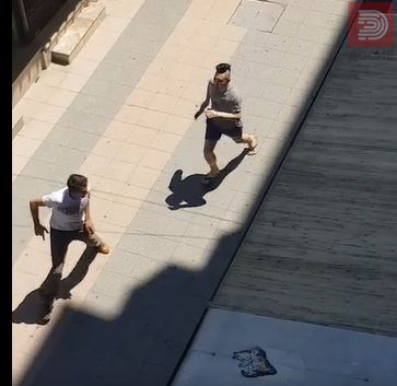 ВИДЕО : Бркотница со сатар во скопска Лептокарија