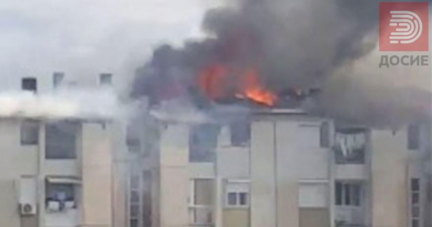 ФОТО: Изгореа шест стана во Гевгелија, отворени сметки за донации за помош на станарите