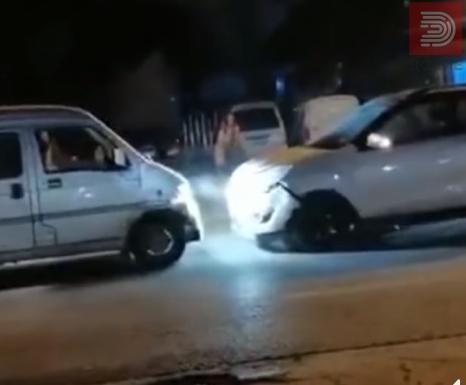 Видео : Пијан возач вози во спротивен правец