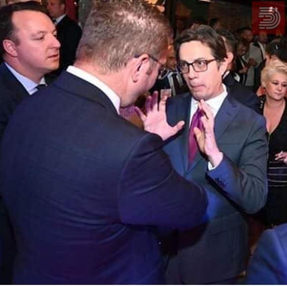 Фото: Што ли си кажаа? Пендаровски, Мицкоски и Заев на едно место
