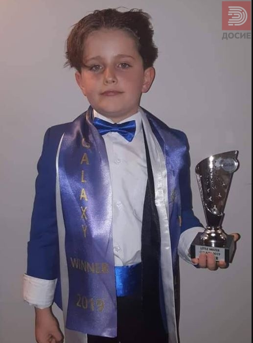 Малиот Садат Јакупи избран за најубаво дете во светот