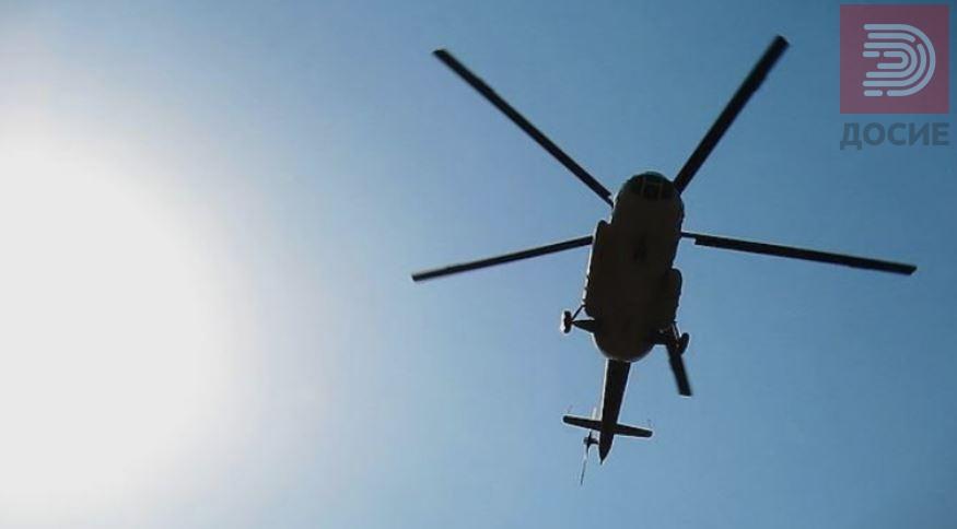 Повреден планинар со хеликоптер на МВР пренесен во болница
