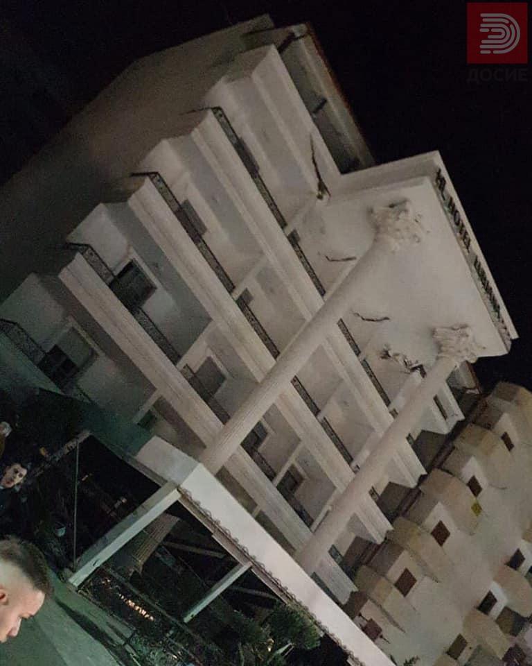 Првите снимки по земјотресот Албанија на нозе , регионот во шок