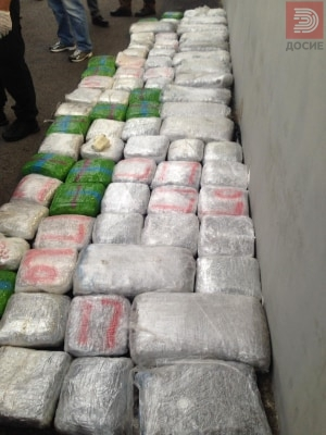 Во камион пронајдени над 100 килограми марихуана