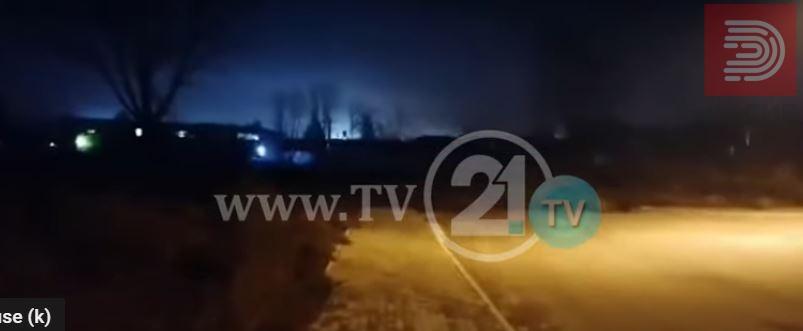 Видео: Вечерва експлозија во битолската печатница каде се печати изборен материјал