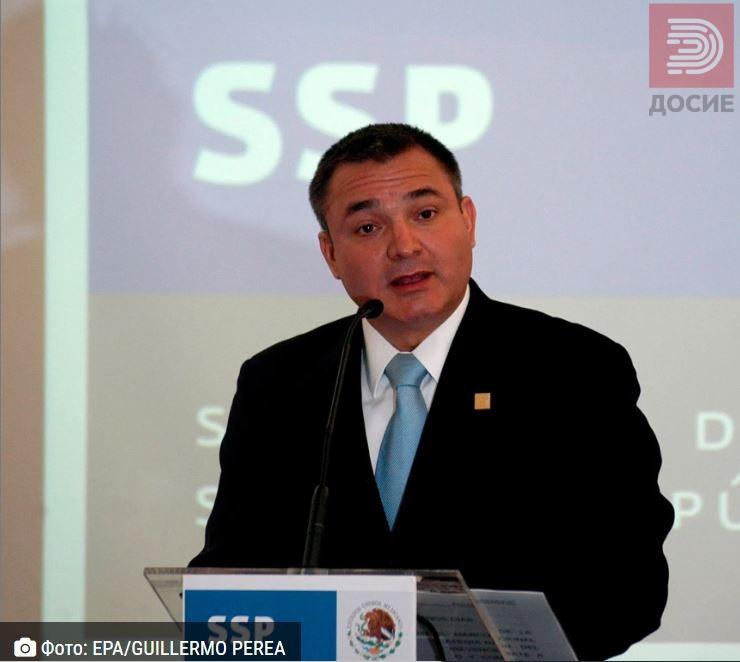 Уапсен министерот на Ел Чапо: Одговорниот за јавната безбедност во Мексико овозможувал непречен транспорт на кокаин во САД