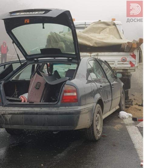Се судрија пет возила – затворен автопатот Велес Скопје