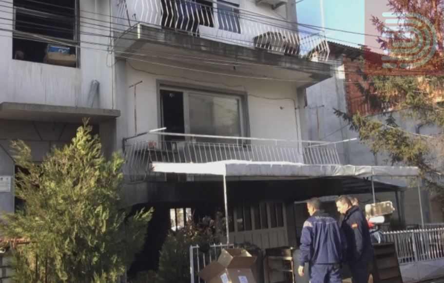 Жена изгоре во подрум, шест лица се спасија