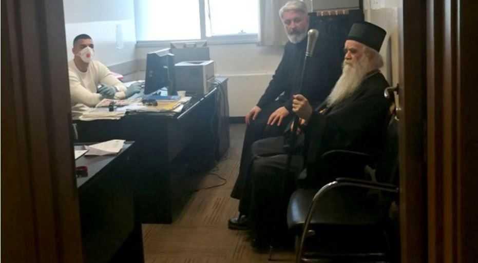 Во Црна Гора уапсен па ослободен митрополитот Амфилохије