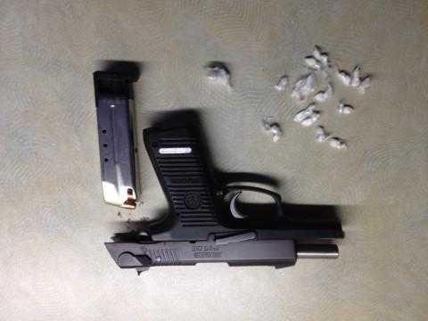 Приведено лице од Синѓелиќ каде полицијата пронајде пиштол и хероин