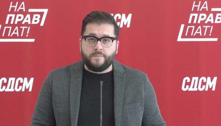 Петров од СДСМ за Груби, ти зборуваш за иновации, тој за етнички вработувања