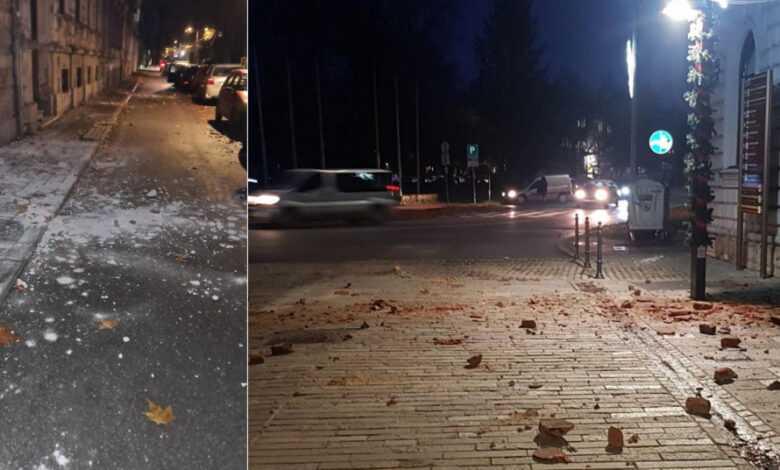 (ВИДЕО) Земјотрес со сила од 5,2 степени ја погоди централна Хрватска
