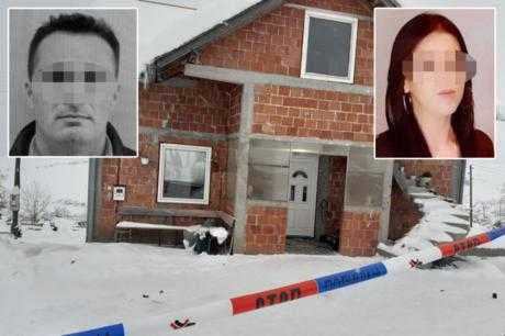 Детали за убиството на цело семејство во Србија – деца виделе и слушнале се, убиецот избегал со моторна санка