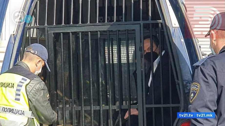 """Сашо Мијалков спроведен од куќен притвор во судница, ја чека пресудата за """"Тврдина-Таргет"""""""