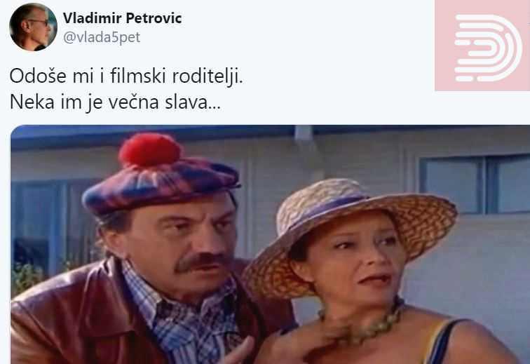 """Боба од """"Жикина династија"""" се збогуваше со Дара Чалениќ: """"Заминаа и моите филмски родители"""""""