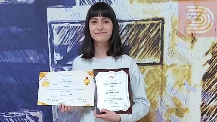 Стефани Симонова светски шамион во BRAINOBRAIN – вештини