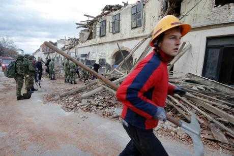 Нов земјотрес го стресе тлото на Хрватска