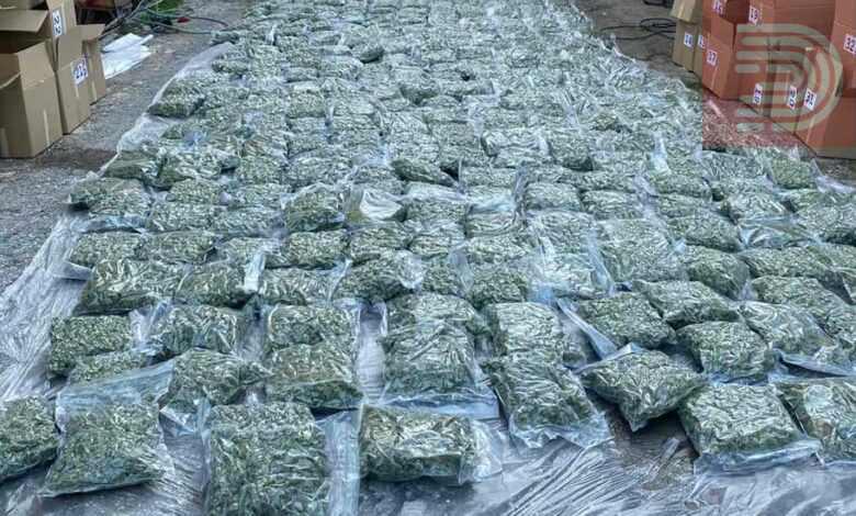 Упасените со 200 кила марихуана немаат врска со фимите на Заеви