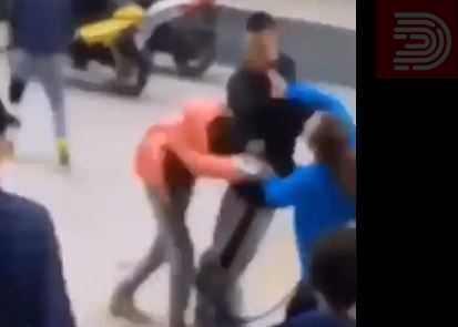 (Вознемирувачко видео) На социјалните мрежи се споделува нова снимка од насилната малолетна велешанка